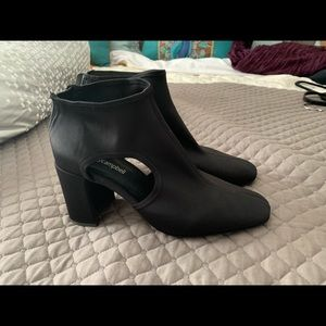 Jeffrey Campbell Black Ankle Boots